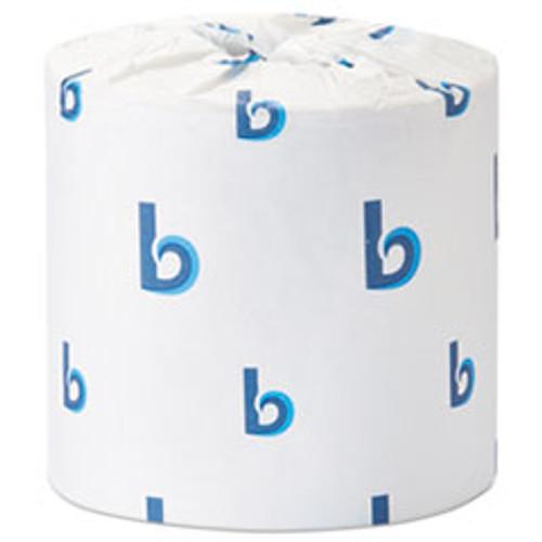 Boardwalk Office Packs Standard Bathroom Tissue  Septic Safe  2-Ply  White  504 Sheets Roll  80 Rolls Carton (BWK6156)