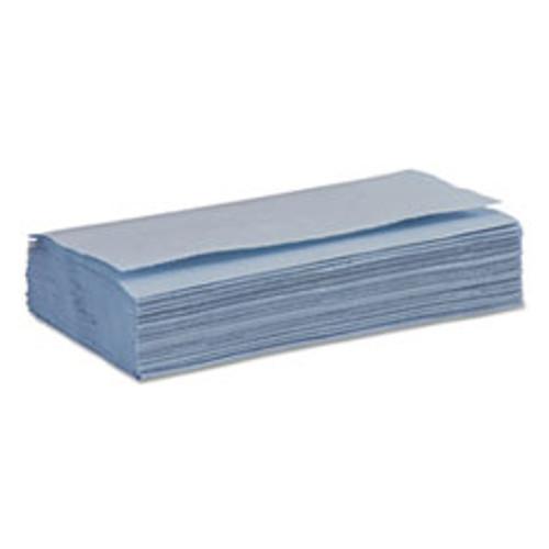 Boardwalk Windshield Paper Towels  Unscented  9 125 x 10 25  Blue  250 PK  9 Packs Carton (BWK6191)