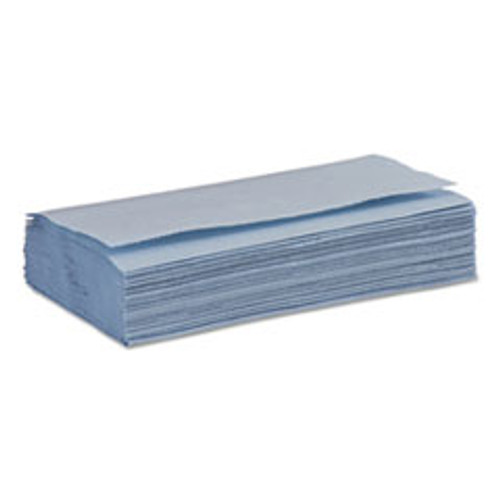 Boardwalk Windshield Paper Towels  Unscented  9 125 x 10 25  Blue  250 PK  9 Packs Carton (BWK6191)