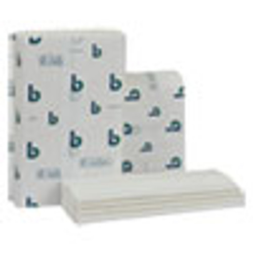 Boardwalk Structured Multifold Towels  1-Ply  9 x 9 5  White  250 Pack  16 Packs Carton (BWK6204)