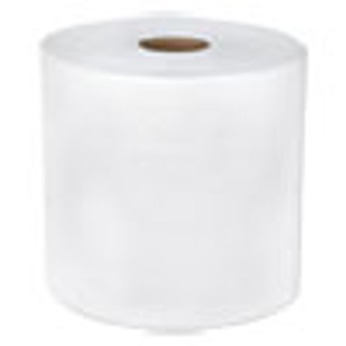 Boardwalk TAD Hardwound Roll Towels  1-Ply  7 7 8  x 600 ft  White  6 Rolls Carton (BWK6262)