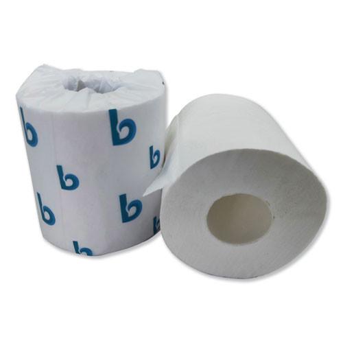 Boardwalk Boardwalk Green Plus Bathroom Tissue  2-Ply  White  380 Sheets  96 Rolls Carton (BWK6380)