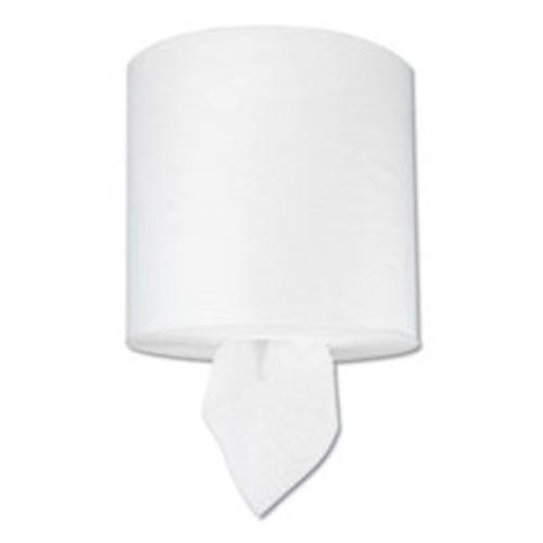 Boardwalk TAD Center-Pull Hand Towels  1-Ply  7 5 8  x 400 ft  White  6 Rolls Carton (BWK6404)