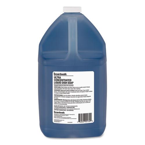 Boardwalk Ultra Concentrated Liquid Dish Soap  Clean  1 gal  4 Carton (BWK74128)