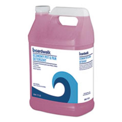 Boardwalk Industrial Strength Pot and Pan Detergent  1 Gal Bottle (BWK77128EA)