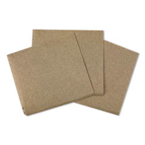 Boardwalk Beverage Napkins  1-Ply  9 5  x 9 5   Kraft  500 Pack  8 Packs Carton (BWK8300K)