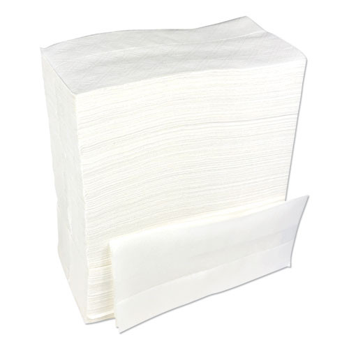 Boardwalk Tallfold Dispenser Napkin  12  x 7   White  500 Pack  20 Packs Carton (BWK8302W)