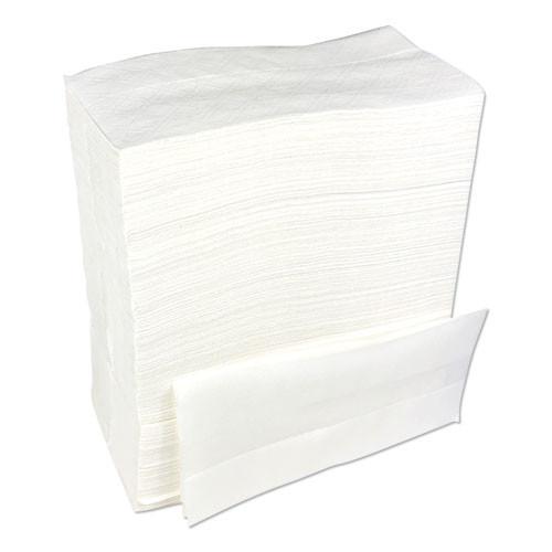 Boardwalk Tallfold Dispenser Napkin  12  x 7   White  500 Pack  20 Packs Carton (BWK8302W)