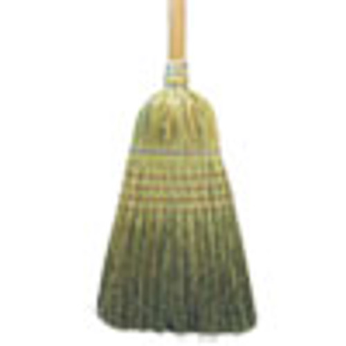 Boardwalk Warehouse Broom  Corn Fiber Bristles  56  Overall Length  Natural (BWK932CEA)