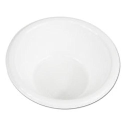 Boardwalk Hi-Impact Plastic Dinnerware  Bowl  5-6 oz  White  1000 Carton (BWKBOWLHIPS6WH)