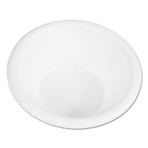 Boardwalk Hi-Impact Plastic Dinnerware  Bowl  5-6 oz  White  1000 Carton (BWKBOWLHIPS6WH)