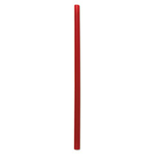 Boardwalk Giant Straws  7 3 4   Red  1500 Carton (BWKGSTU775R)
