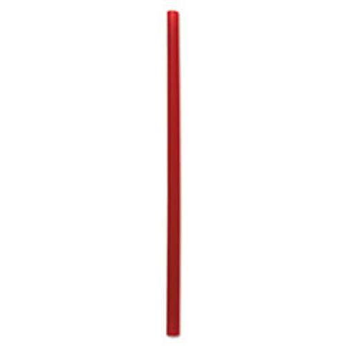 Boardwalk Giant Straws  7 3 4   Red  1500 Carton (BWKGSTU775R)