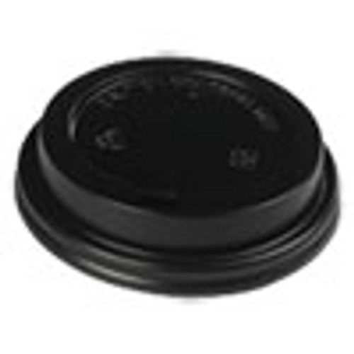 Boardwalk Hot Cup Lids  Fits 10-20 oz Hot Cups  Black  1000 Carton (BWKHOTBL1020)