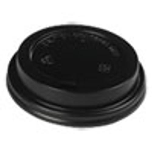 Boardwalk Hot Cup Lids  Fits 10-20 oz Hot Cups  Black  1000 Carton (BWKHOTBL1020)