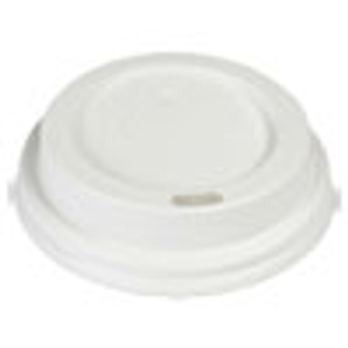 Boardwalk Hot Cup Lids  Fits 8 oz Hot Cups  White  1000 Carton (BWKHOTWH8)