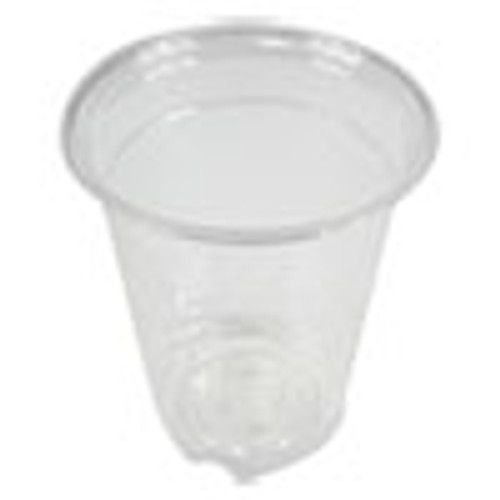 Boardwalk Clear Plastic Cold Cups  12 oz  PET  20 Cups Sleeve  50 Sleeves Carton (BWKPET12)