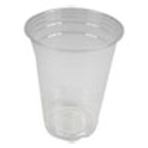 Boardwalk Clear Plastic Cold Cups  16 oz  PET  20 Cups Sleeve  50 Sleeves Carton (BWKPET16)
