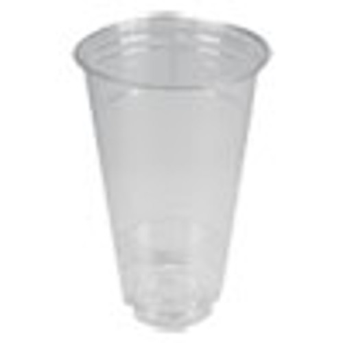 Boardwalk Clear Plastic Cold Cups  24 oz  PET  12 Cups Sleeve  50 Sleeves Carton (BWKPET24)