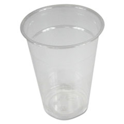 Boardwalk Clear Plastic Cold Cups  9 oz  PET  20 Cups Sleeve  50 Sleeves Carton (BWKPET9)