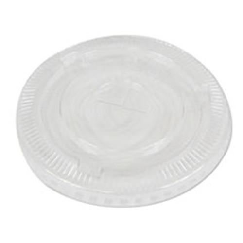 Boardwalk PET Cold Cup Lids  Fits 16-24 oz Plastic Cups  Clear  1000 Carton (BWKPETSTRAW)