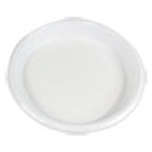 Boardwalk Hi-Impact Plastic Dinnerware  Plate  10  Diameter  White  500 Carton (BWKPLHIPS10WH)