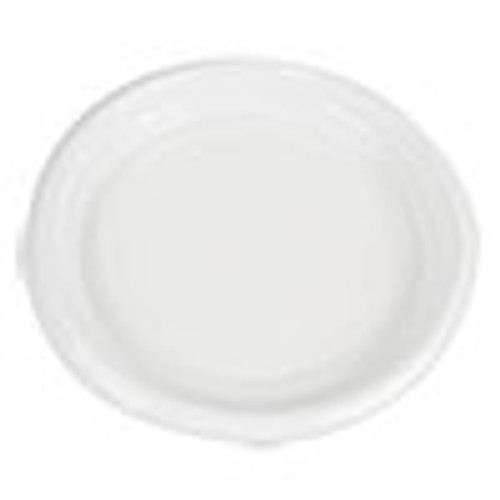 Boardwalk Hi-Impact Plastic Dinnerware  Plate  9  Diameter  White  500 Carton (BWKPLTHIPS9WH)