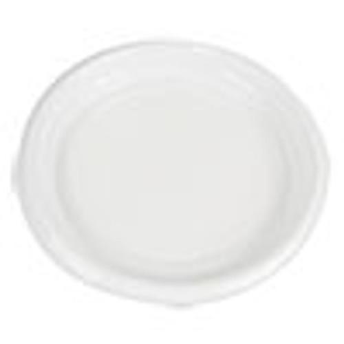 Boardwalk Hi-Impact Plastic Dinnerware  Plate  9  Diameter  White  500 Carton (BWKPLTHIPS9WH)