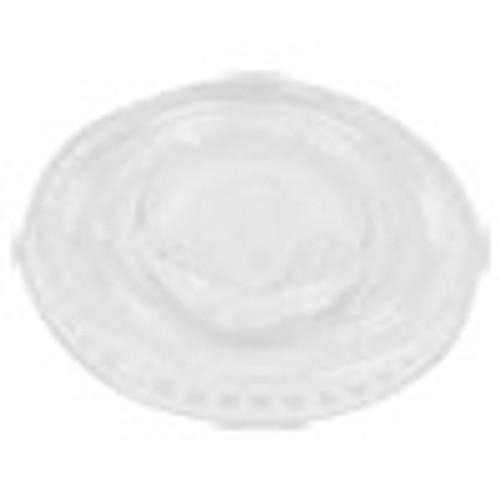 Boardwalk Souffl    Portion Cup Lids  Fits 1 oz Portion Cups  Clear  2500 Carton (BWKPRTLID1)
