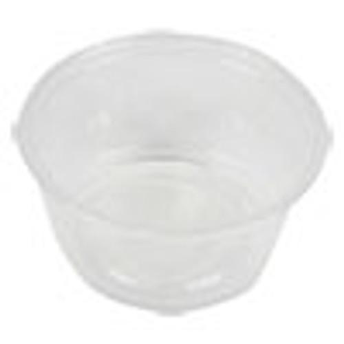 Boardwalk Souffl    Portion Cups  2 oz  Polypropylene  20 Cups Sleeve  125 Sleeves Carton (BWKPRTN2TS)