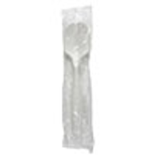 Boardwalk Mediumweight Wrapped Polypropylene Cutlery  Soup Spoon  White  1 000 Carton (BWKSSMWPPWIW)