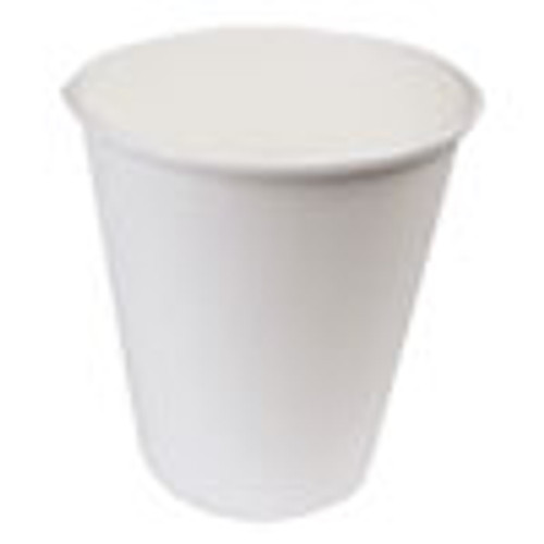 Boardwalk Paper Hot Cups  10 oz  White  20 Cups Sleeve  50 Sleeves Carton (BWKWHT10HCUP)