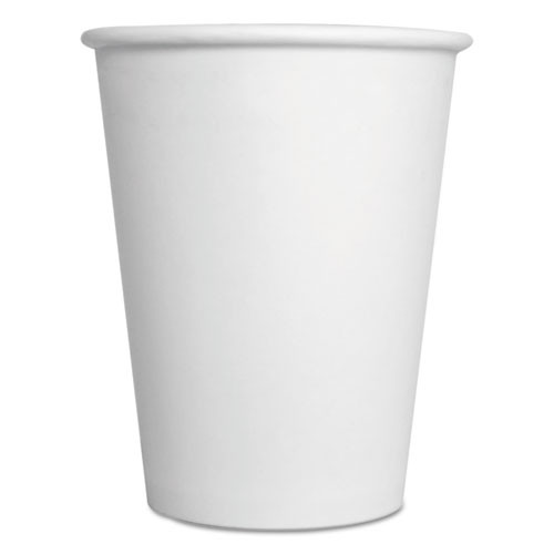 Boardwalk Convenience Pack Paper Hot Cups  12 oz  White  9 Cups Sleeve  25 Sleeves Carton (BWKWHT12HCUPOP)