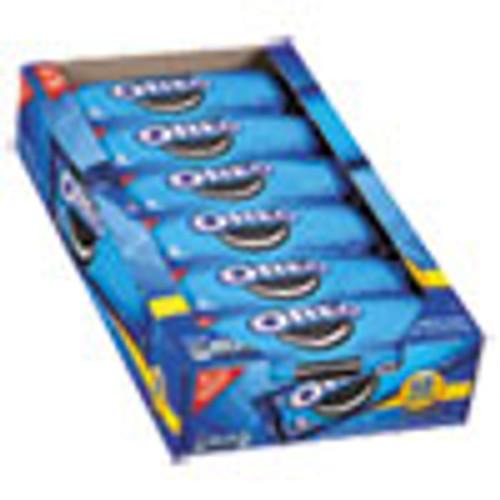 Nabisco Oreo Cookies Single Serve Packs  Chocolate  2 4 oz Pack  6 Cookies Pack  12 Packs Box (CDB00470)