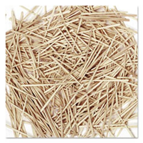 Creativity Street Flat Wood Toothpicks  Wood  Natural  2 500 Pack (CKC369001)