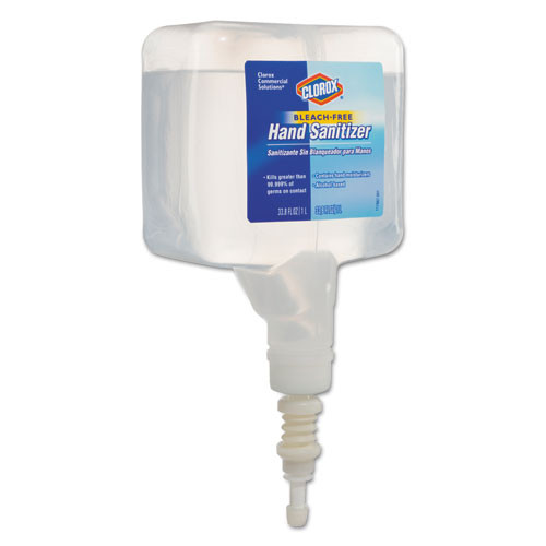 Clorox Hand Sanitizer Touchless Dispenser Refill  1 Liter  4 Carton (CLO30243CT)