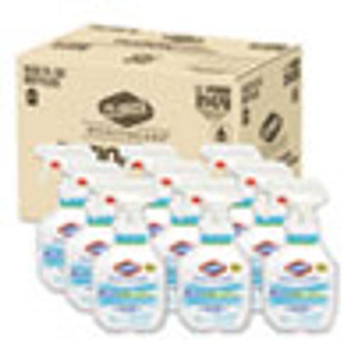 Clorox Healthcare Fuzion Cleaner Disinfectant  Unscented  32 oz Spray Bottle  9 Carton (CLO31478)