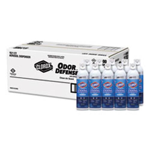 Clorox Commercial Solutions Odor Defense  Clean Air  14 oz Aerosol  12 Carton (CLO31711)