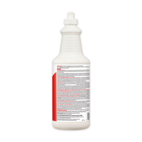 Clorox Disinfecting Bio Stain and Odor Remover  Fragranced  32 oz Pull-Top Bottle  6 CT (CLO31911)