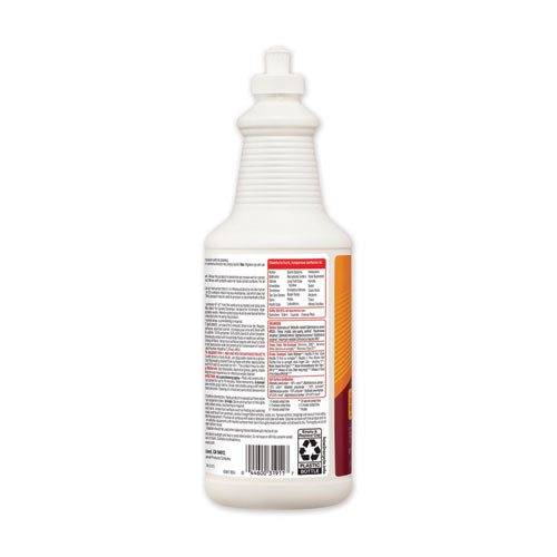 Clorox Disinfecting Bio Stain and Odor Remover  Fragranced  32 oz Pull-Top Bottle (CLO31911EA)