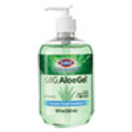Clorox Healthcare GBG AloeGel Instant Hand Sanitizer  18 oz Bottle  12 Carton (CLO32375)