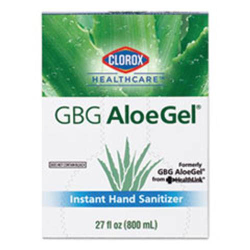 Clorox Healthcare GBG AloeGel Instant Hand Sanitizer  800 mL Bag-in-a-Box  12 Carton (CLO32376)