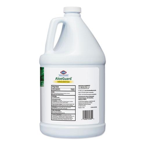 Clorox Healthcare AloeGuardA   Antimicrobial Soap  Aloe Scent  1 gal Bottle  4 Carton (CLO32380)