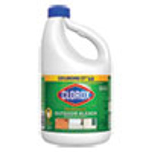 Clorox Outdoor Bleach  81 oz Bottle  6 Carton (CLO32438)