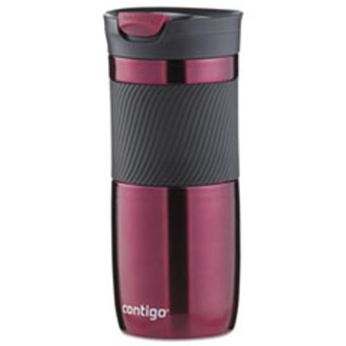 Contigo Byron Snapseal Stainless Steel Travel Mug  16 oz  Vivacious (CNOSSA100A01)