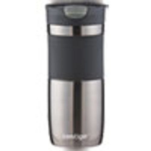 Contigo Byron Snapseal Stainless Steel Travel Mug  16 oz  Gunmetal (CNOSSH100A01)