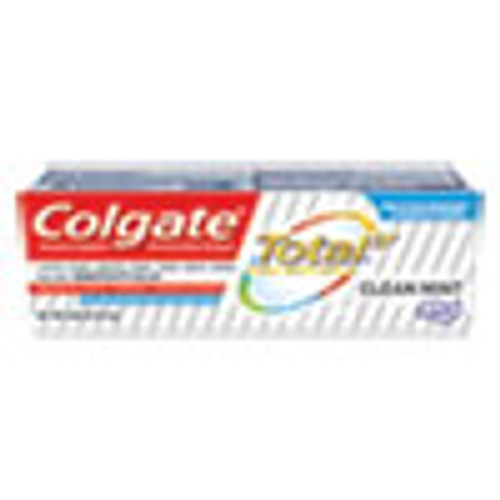 Colgate Total Toothpaste  Coolmint  0 88 oz  24 Carton (CPC45986)