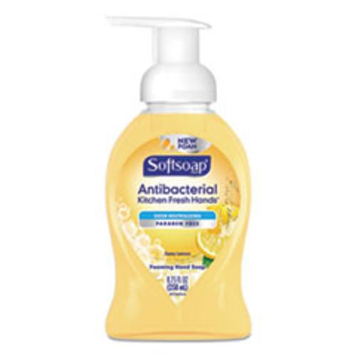 Softsoap Sensorial Foaming Hand Soap  8 75 oz Pump Bottle  Zesty Lemon  6 Carton (CPC96986)