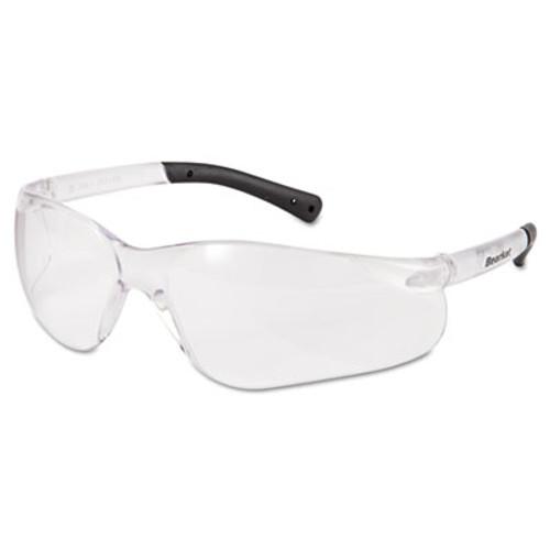 MCR Safety BearKat Safety Glasses  Frost Frame  Clear Lens (CRWBK110AFBX)