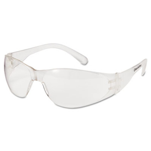 MCR Safety Checklite Safety Glasses  Clear Frame  Clear Lens (CRWCL010)